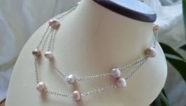 Ожерелье из лилового жемчуга ′Адель′