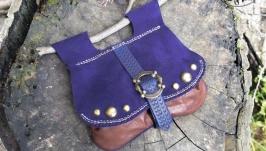 Поясная  сумочка в  средневековом  стиле