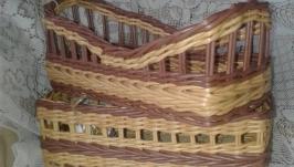 корзинка для специй плетеная