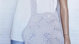 Круглая сумка на лето