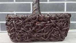 Плетеная корзина 30*23см
