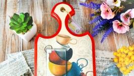 Доска разделочная для кухни ′Чашечки′