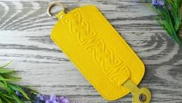 Ключница желтый кельтский узел