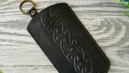 Ключница черный кельтский узел