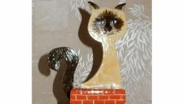 Карандашница ′Кот на крыше′