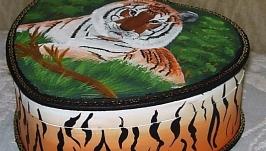 Шкатулка ′ С любовью к тигру′
