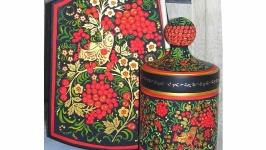 Набор подарочный ′Красная рябина Хохломы′