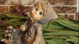 Керамическая статуэтка Авторская работа