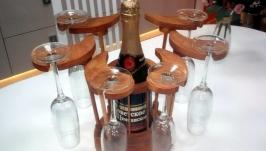 Мини - бар лотос под бутылку шампанского и 6 бокалов