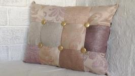 Подушка для дивана. Декоративна. Двостороння.