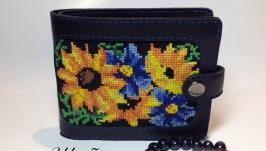 Жіночий гаманець ′Квітка сонця′