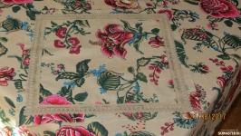 Скатерть и салфетки ′Цветы ′