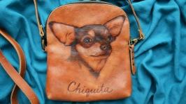 Кожаная сумка ′ЧИКИТА′