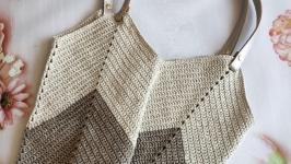 Золотая сумка шоппер