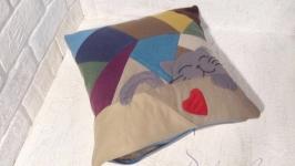 Подушка для дивана декоративна