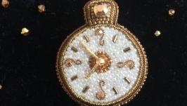 Брошь Винтажные Часы