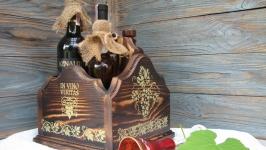 Мини бар, короб- подставка для вин ′Эксклюзив′