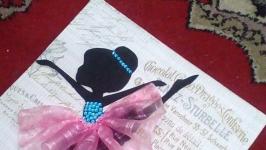 панно Балерина