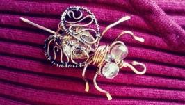Брошь ′Золотая муха′