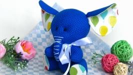 Синий слон, подарок ребенку