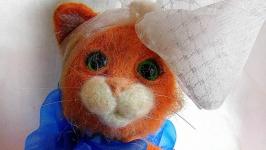 тут изображено Кукла -кошка Росичка