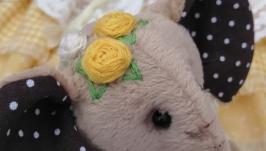 ДЖЕЙН - скульптурно-текстильная коллекционная кукла