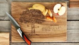 Кухонна дошка дощечка з дерева Разделочная доска для кухни продуктов еды