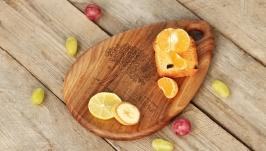 Кухонна дошка дощечка з дерева, Разделочная доска для кухни «Медиатор»
