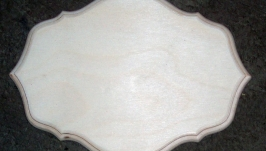 Доска с выборкой 20 х 14,5 см