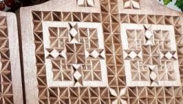 доски резные декоративные