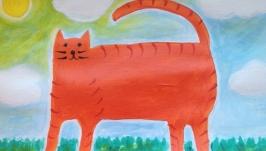 Прогулка Рыжего Кота