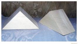 Кубик треугольный 8,5х13х6 см