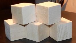 кубики обыкновенные 3х3х3 см