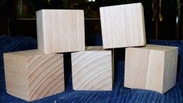 Кубики обыкновенные 4х4х4 см
