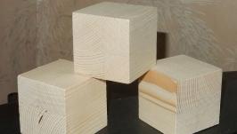 Кубики обыкновенные 6х6х6 см