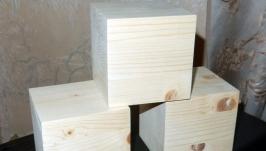 Кубики обыкновенные 10х10х10 см