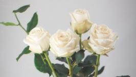 Цветы ручной работы. Розы. Декор для дома.