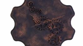 Интерьерные часы в стиле Стимпанк