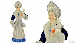 Русская Снегурочка новогодний подарок и сувенир