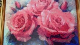 Картина ′РОЗЫ′ Алмазная вышивка