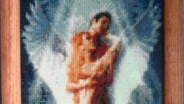Картина ′Ангел′ Алмазная вышивка