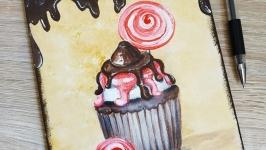 Декоративна дощечка ′Cupcakes′
