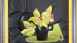 Орхидеи в чашке