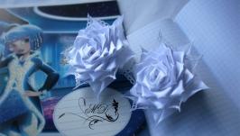 Резинки ′ Белые розочки′
