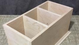 Коробка для пультов на 3 ячейки