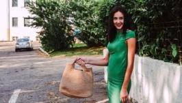 Джутовая сумка ′Шоппер′