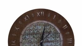 Часы настенные в винтажном стиле