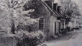 Картина ′Дом учителя музыки′