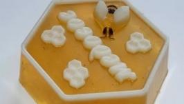 Мыло с ароматом меда с молоком