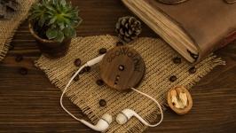 Органайзер для навушників, Органайзер для наушников из дерева EcoWalnut